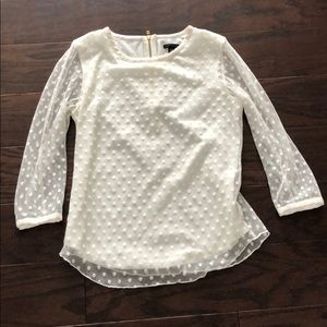 Ann Taylor Laced blouse